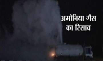 panic in surat after ammonia gas leak from tanker...