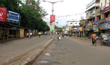 partial response to maoist bandh against...