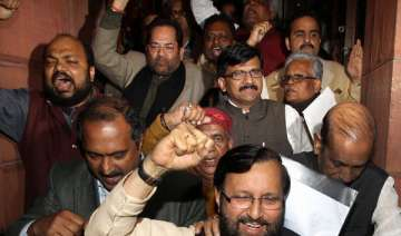 parties cry foul bjp wants govt to resign - India...
