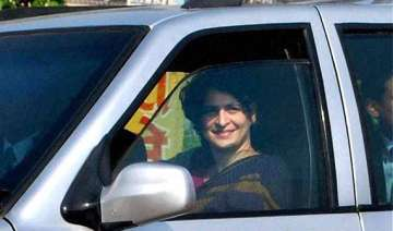 priyanka open to idea of campaigning outside...