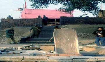 prohibitory orders in ayodhya up govt bans vhp s...