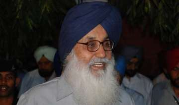 punjab cm badal not invited to cancer hospital...