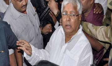 fodder scam lalu to be in jail for five years...