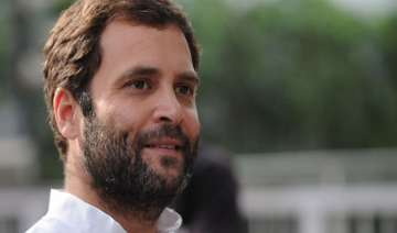 rahul gandhi warms up to mediapersons - India TV