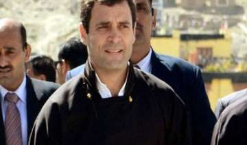 rahul did not flout any norm during uttarakhand...