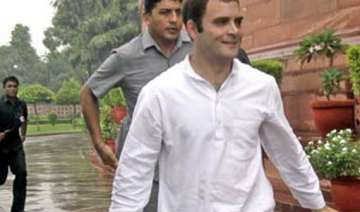 rahul to be present during voting on adj motion...