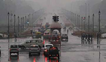 rain brings relief to delhi ncr strong winds...