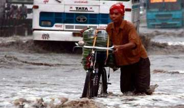 rains lash up several rivers flowing close to...