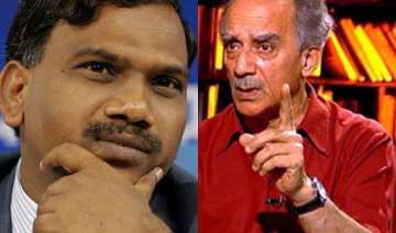 raja tries to drag shourie in 2g scam - India TV