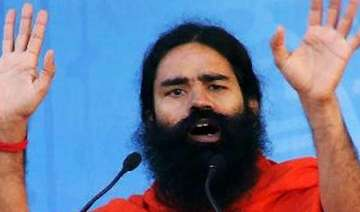 ramdev in favour of sadhvi ritambara at fast...