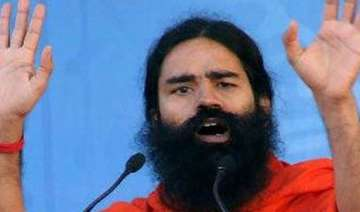 ramdev not fighting graft but into politics in...