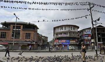 restrictions imposed in old city life disrupted...