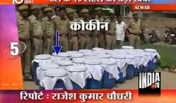 rs 100 cr worth cocaine seized in rajasthan -...