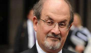 rushdie breaks silence on twitter but no comment...