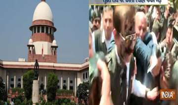 sc notice to advocate over throwing ink at sahara...