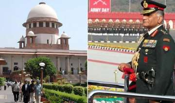 sc dismisses pil on army chief s age row - India...