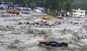 ssb academy damaged in uttarakhand rains - India...