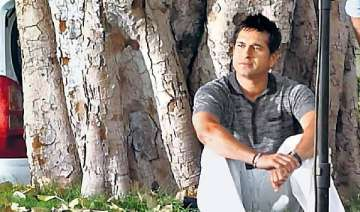 sachin sits under sai tree in jaipur - India TV