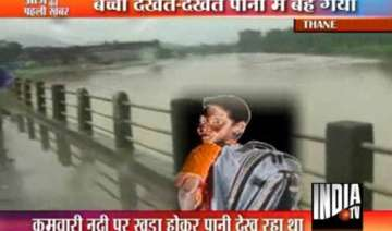 school boy washed away in bhiwandi river flood -...
