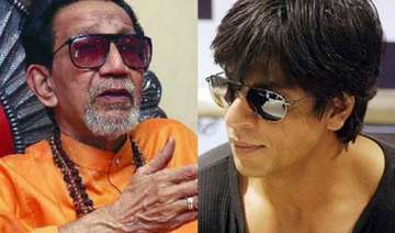 sena slams srk for throwing party 2 days after...
