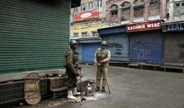 separatist shutdown hits life in kashmir - India...