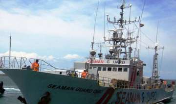 ship carrying arms and security guards detained...
