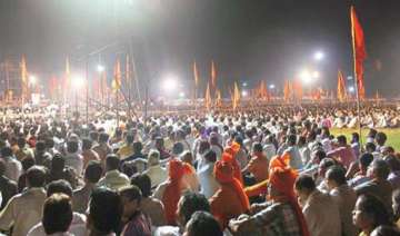 shiv sena allowed to hold dussehra rally at...