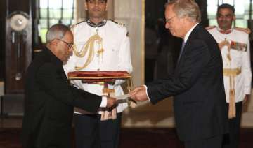 six envoys present credentials to the president -...