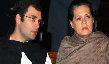sonia rahul gandhi say bjp responsible for defeat...
