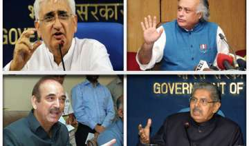speculation about four central ministers offering...