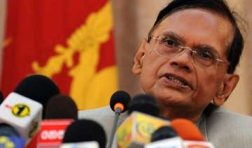 sri lankan foreign minister arriving sunday to...