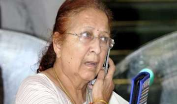 sumitra mahajan gets rousing welcome in her...