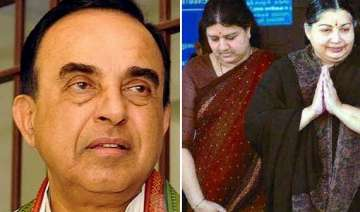 swamy welcomes sasikala s expulsion from aiadmk -...