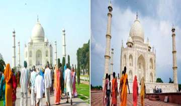 taj mahal a victim of man and nature - India TV