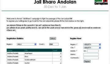 team anna launches online campaign for jail bharo...
