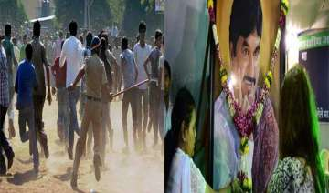 tension grips munde s village after his cremation...