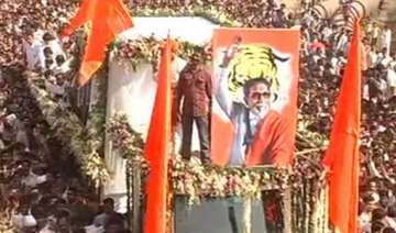 thackeray s cremation marks a first for mumbai -...