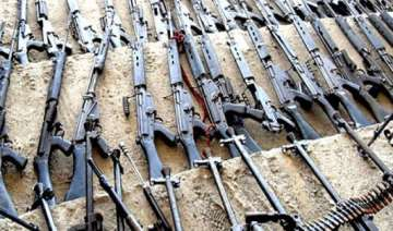 three held for illegal possession of arms - India...
