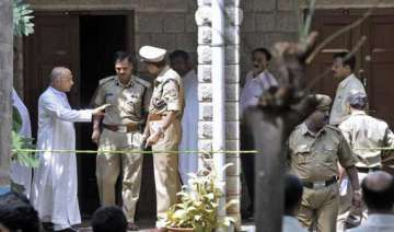three priests arrested for murder in bangalore...