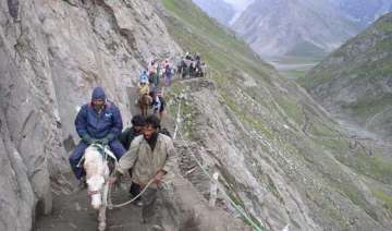 traditional pahalgam route to amarnath to open on...