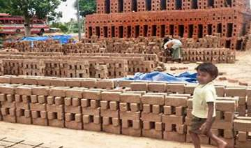 two children fall in brick kiln charred to death...