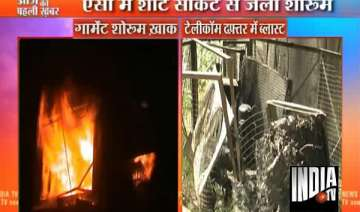 two airconditioners catch fire in meerut 2...