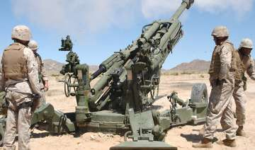 us to sell 145 howitzer guns to india in 885 mn...