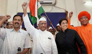 united team hazare rules out exit of bhushans...