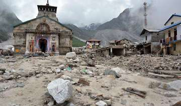 uttarakhand prayers to restart at kedarnath...