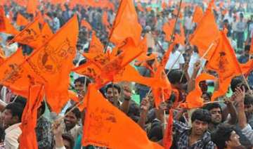 vhp yatra situation tense in up towns as security...
