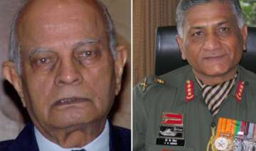v k singh must be sent on forced leave says...