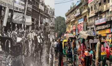 watch in pics old delhi then and now - India TV