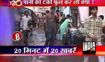 water woes in mumbai continues for 2nd day -...