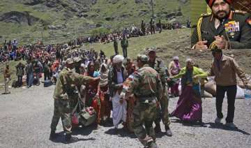 we will stay till last person is evacuated army...